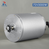 72V 3000W Central Drive High Speed Brushless DC Wheel Motor 5800RPM electric bike conversion kit Scooter accessories for ebike