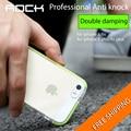 Rock simpiz series certificación sgs protección gota case para iphone 6 6 s 6 s plus contraportada Tpu + TPE de alta elasticidad