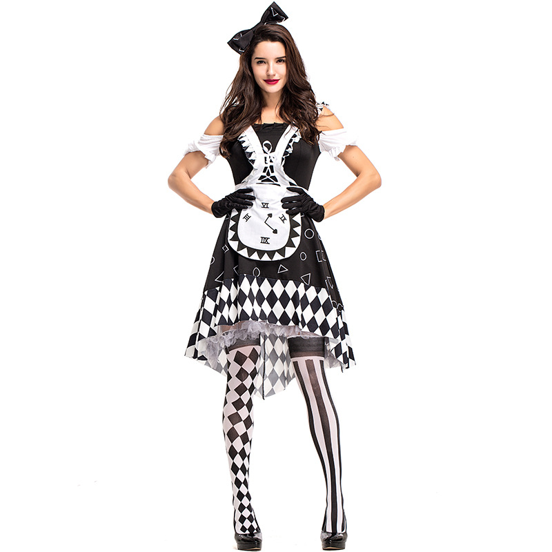 Adult Women Dark Wonderland Alice Costume