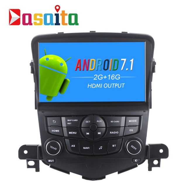 7 Android 7 1 Car DVD Player For Chvrolet Cruze 2008 2011 GPS Stereo Navi Touch