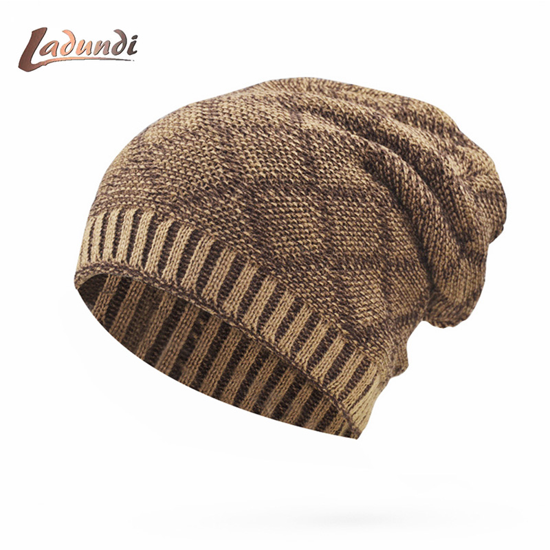 Balaclava Knitted hat warmer Winter Hats For Men women caps   skullies     beanies   warm Fleece cap   Beanies   Hats Male