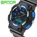 2017 The new top luxury brand men sports watch G class digital fashion casual watches LED digital quartz watch rubber strap