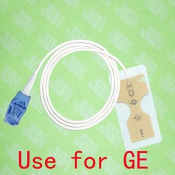 Compatible 8pin GE Pulse Oximeter monitor the Adult disposable SPO2 sensor(Non-woven),5 pcs.