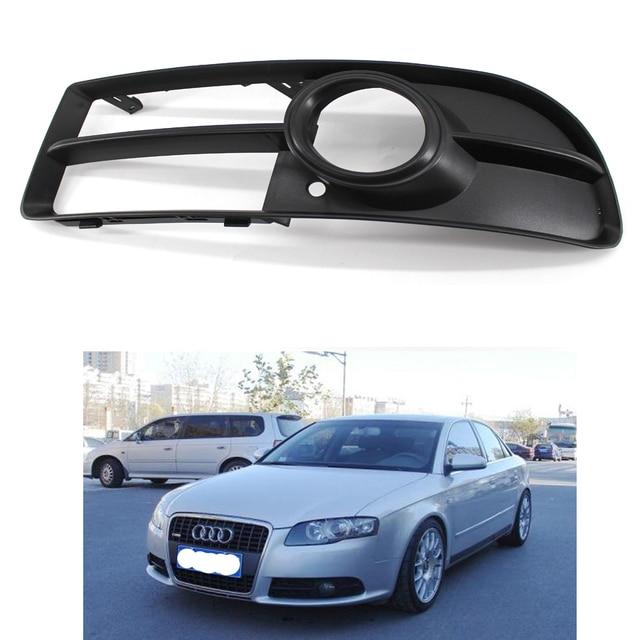 Frente Lower Side Bumper Fog Light Grille Esquerda para Audi A4 B7 S-line S4 07-09 8E0 807 681 F