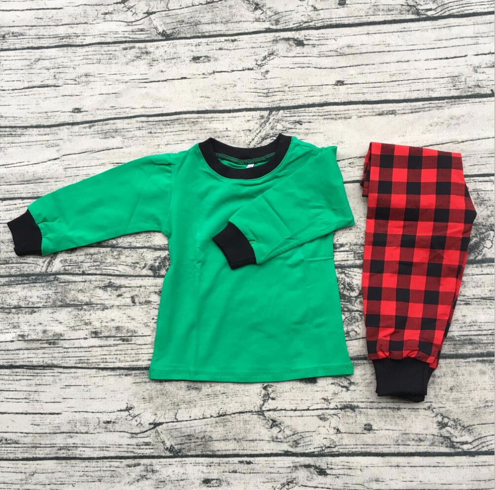 girls boutique clothing christmas decorating autumne long sleeve cotton wholesale baby clothes india knit fabric for pajamas