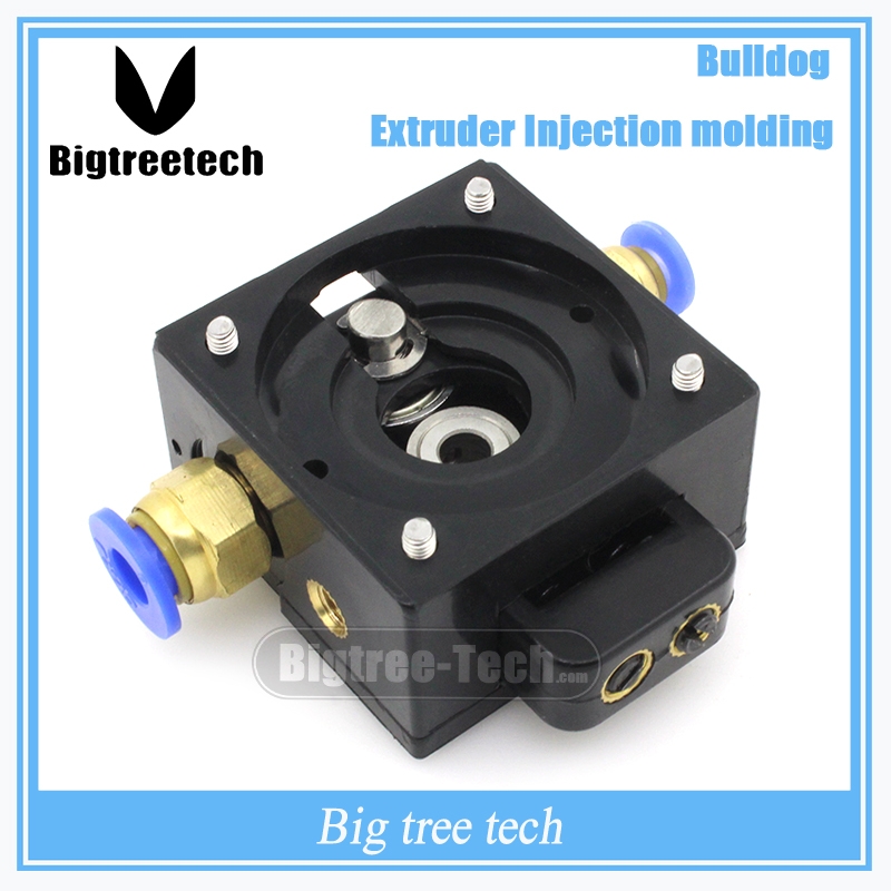 1pcs3D Printer DIY Reprap Bulldog Injection Extruder Parts Remote for 1 75 3mm Compatible with 3D