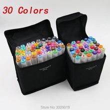 30 Farben Art Marker Doppelspitzen Professionelle Klasse Besondere Zeichnung Malerei Kunst Marker Stift