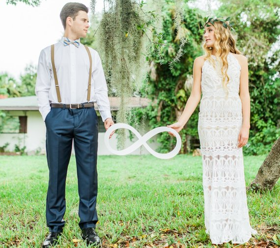 Wedding Photo Props Ideas: Wedding Photo Prop Infinity Sign Photography Sign For