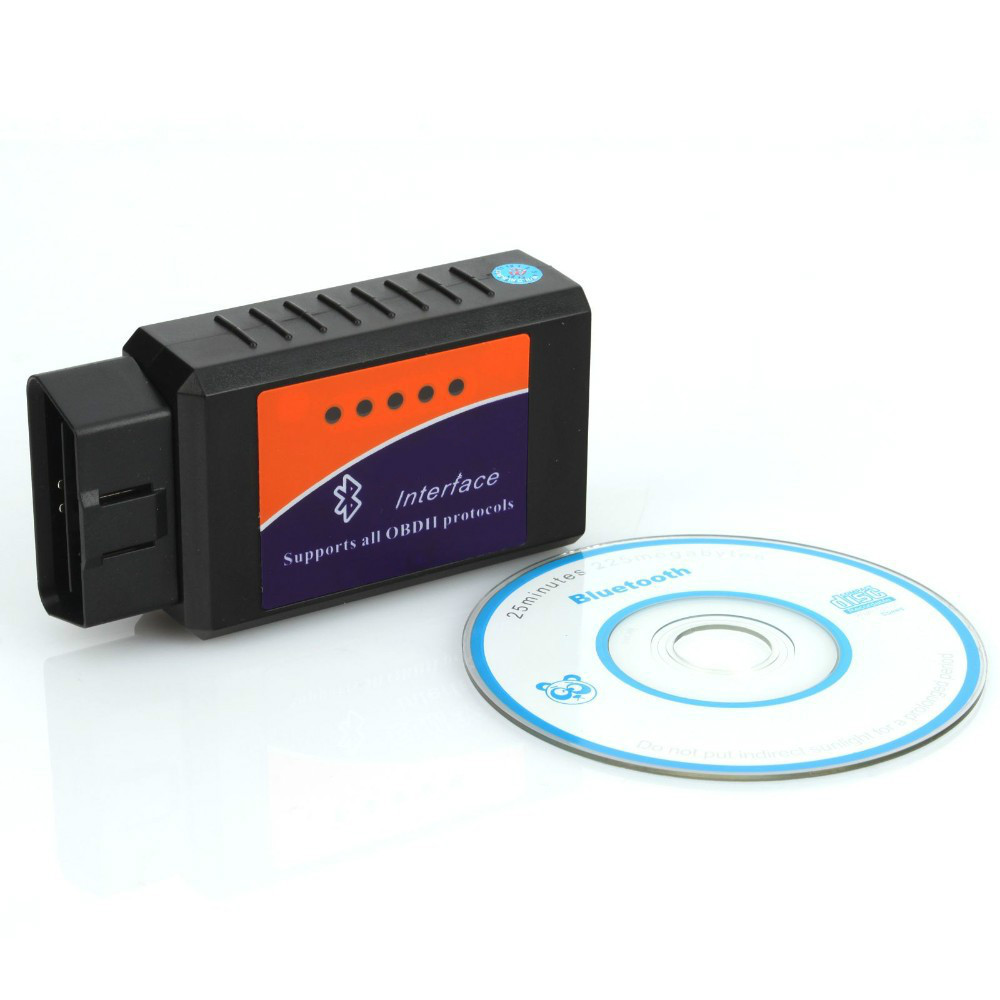 Professional Diagnostic Tool OBD2 OBD-II ELM327 V1.5 Bluetooth Car Diagnostic Interface Scanner Works On Android