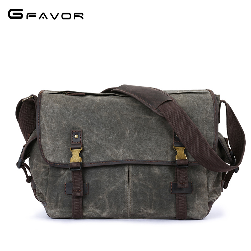 Vintage Canvas Crossbody Bag Men Travel Messenger Shoulder Bags Fashion Large Capacity Male Designer Brand Waterproof Laptop Bag high quality men canvas bag vintage designer men crossbody bags small travel messenger bag 2016 male multifunction business bag