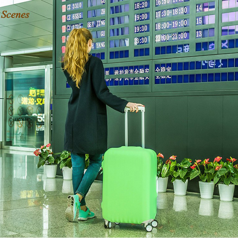 LXHYSJ 18-30 Inch Luggage Protective Cover Suitcase Suitcase Trolley Case Dust Cover Perfect Elastic Travel Accessories