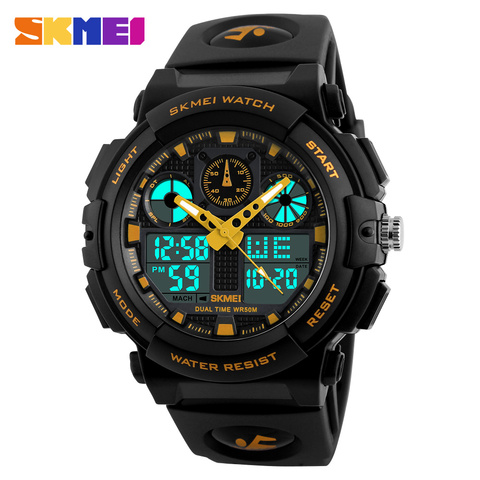 New Arrival Outdoor Sports Luxury Quartz Watch For Man Waterproof Watches Luminous Digital Fashion Men Fitness Watches Lahore