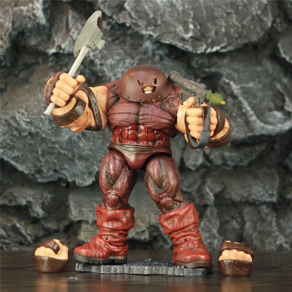 Marvel Select X MEN Juggernaut 10 Action Figure 22cm KOs Diamond Select DST MS X-MEN Deadpool X Froce Cain Marko Legends ToysMarvel Select X MEN Juggernaut 10 Action Figure 22cm KOs Diamond Select DST MS X-MEN Deadpool X Froce Cain Marko Legends Toys