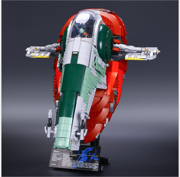 купить LEPIN star wars ucs Slave NO.1 lepin 05037 Model Building Block Compatible legoing starwars ucs Slave1 legoing star wars 75060