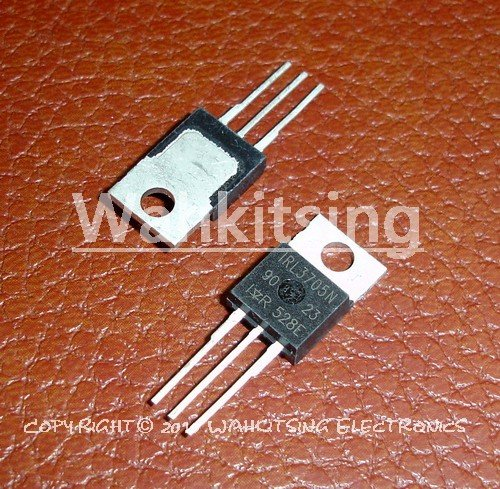 2 PCS IRL3705N TO-220 IRL3705 L3705N HEXFET Power MOSFET