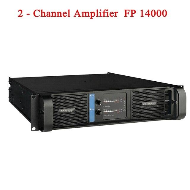 2020 Lab Gruppen 고품질 FP14000 SMPS 스위치 라인 어레이 증폭기 2x235 0w/8ohm RMS 출력 바나나 바인딩 포스트 2 채널