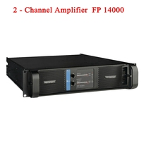 2020 Lab Gruppen High Quality FP14000 SMPS Switch Line Array Amplifier at 2x2350w\/8ohm RMS output Banana Binding post 2 Channels