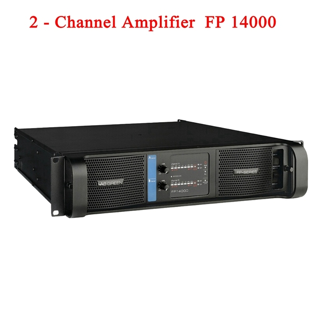 2020 Lab Gruppen High Quality FP14000 SMPS Switch Line Array Amplifier at 2x2350w/8ohm RMS output Banana Binding post 2 Channels