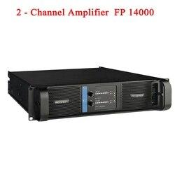 2020 Lab gruppen Hohe Qualität FP14000 SMPS Schalter Linie Array Verstärker zu 2x235 0w/8ohm RMS ausgang Banana binding post 2 Kanäle