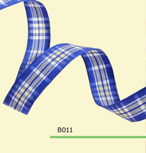 100yards roll 5 8 Inch 15mm Christmas Tartan Plaid Craft Ribbon