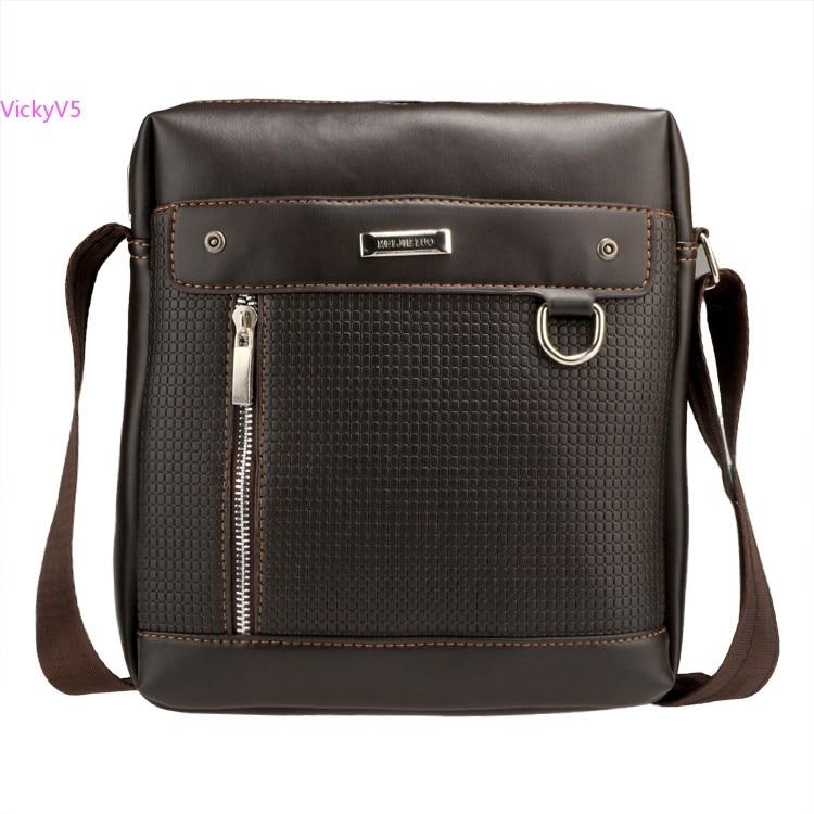 ộ ộ Fashion Pu Leather Men S Messenger Bags Man Portfolio Office