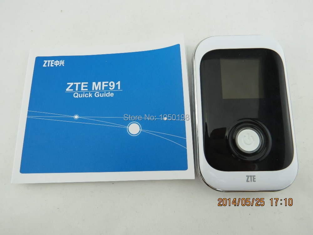 Desbloqueado ZTE MF91 D POCKET WIFI ROUTER 4G LTE 42MBPS SPEED * - Equipo de red