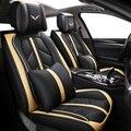 Di alta qualità caso di cuoio Speciale copertura di sede dell'automobile per Volkswagen Tutti I Modelli passat b5 6 polo golf tiguan auto accessori auto seggiolino auto