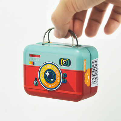 6 styl Europe Style Vintage Suitcase Shape Candy Storage Box Wedding Favor Tin Box Sundries Organizer Container Small Decoration