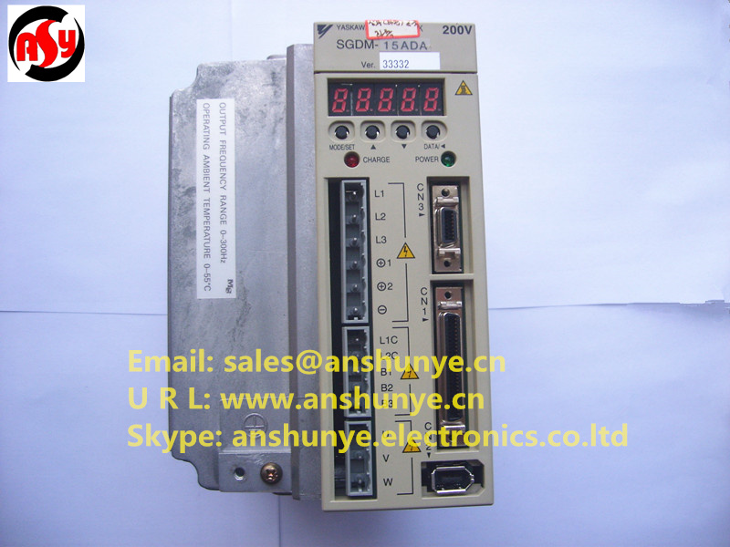 YASKAWA SERVO DRIVER SGDM-15ADA SERVO,Second-hand Looks Like new Tested Working perfect yaskawa ac servo motor sgm a5a3nt14 second hand looks like new tested working