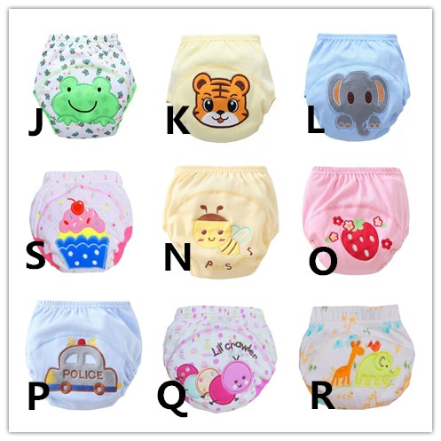 30Pcs/Lot Diapers Baby Diaper Children\\'S Underwear Reusable Nappies Training Pants Panties For Toilet Training