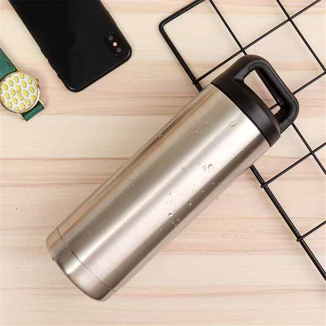 Large Capacity Stainless Steel Water Bottle