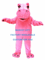 Cartoon Character Mascot Daisy Hippo Mascot Costume Adult Size Party Theme Mascotte Outfit Fit Suit Fancy Dress SW949