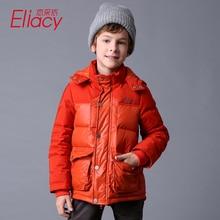 Liancaiyi Новое поступление 2017 года зимняя верхняя одежда для мальчиков пальто Дети Теплые пуховые парки модная детская одежда пуховая куртка для мальчиков