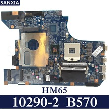 Купить с кэшбэком KEFU 10290-2 Laptop motherboard for Lenovo B570 original mainboard HM65 PGA989