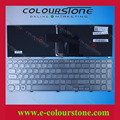 For Dell Inspiron 17  7000 7737 Serie RU SILVER Laptop keyboard with backlit NSK-LH0BW  0XVK13  9Z.NAVBW.00R