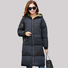 New Winter Maternity Coat Casual  Warm Maternity Clothing mid-long down Jacket  For Pregnant Women outerwear  warm clothing