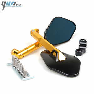 Image 5 - Universal CNC Motorcycle Mirror Side Rearview Mirror For Triumph BONNEVILLE TIGER 800 1050 SPEED TRIPLE tt600 SCRAMBLER AMERICA