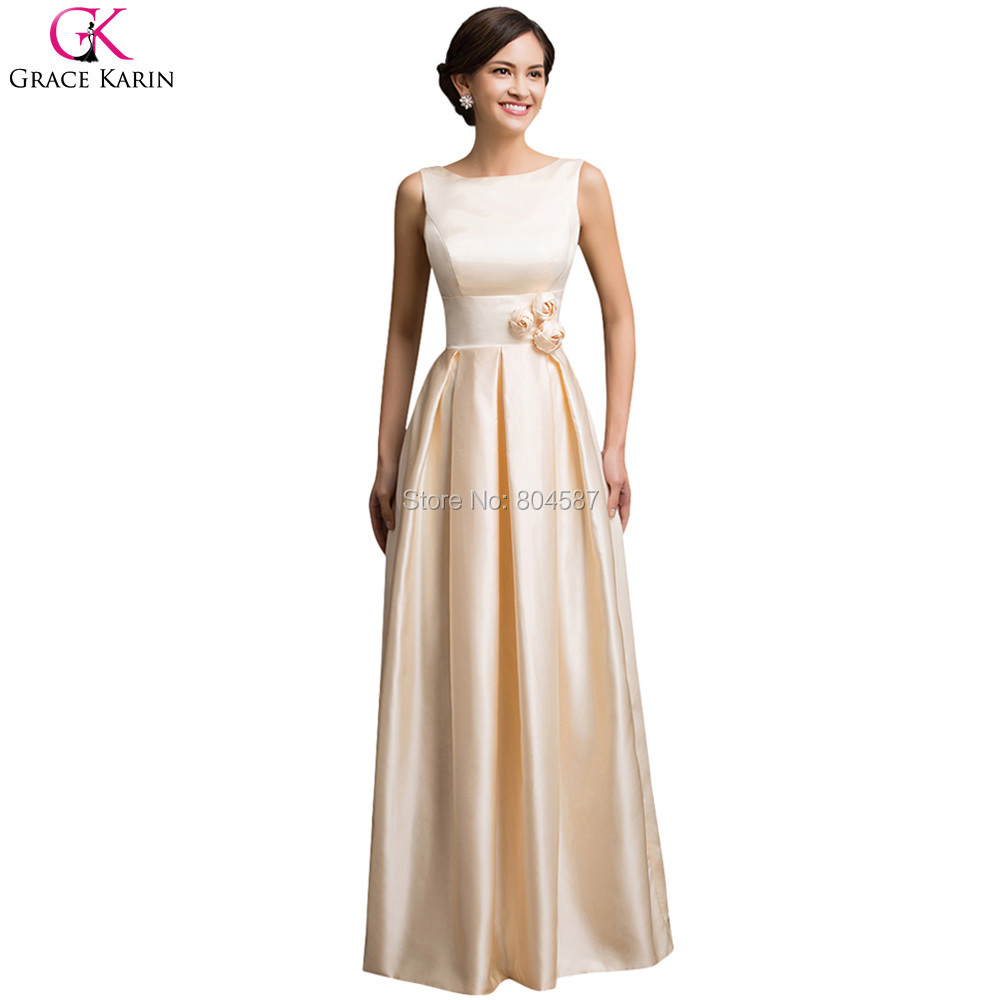 Robe de demoiselle d 39 honneur adulte elegant grace karin for Elegant wedding party dresses