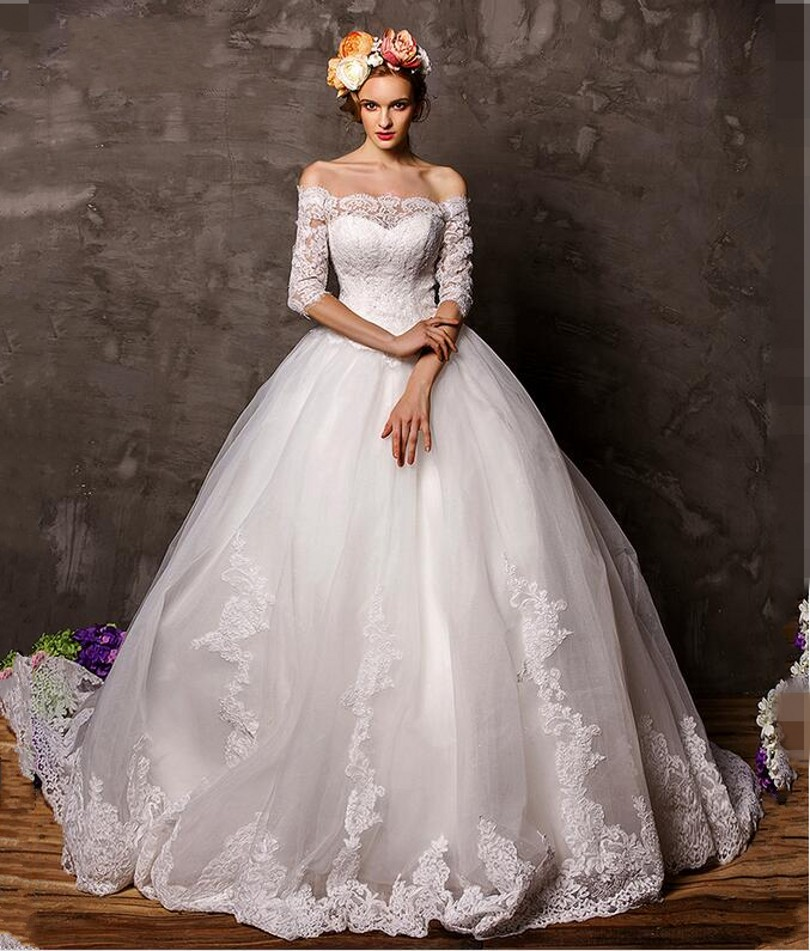 Fairy Wedding Dresses 2016 - Short Hair Fashions