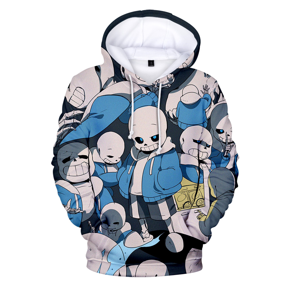 Hot Mannen Hoodies Undertale Printed Hooded Sweatshirts Male Streetwear Games Undertale Fashion Pullover Men Hip Hop Top