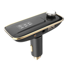 New Hot Sale The new Bluetooth 4.0 Handsfree Car Charger Bluetooth Car Kit Phonespeaker