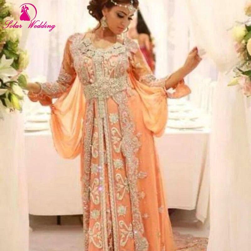 Vestiti Da Sposa Del Marocco.Lusso Caftano Marocain Abaya Islamico A Dubai Abito Da Sera Manica