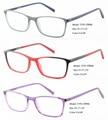 Maravilla de ojos mujeres venta al por mayor gafas marco óptico en rojo púrpura negro T195