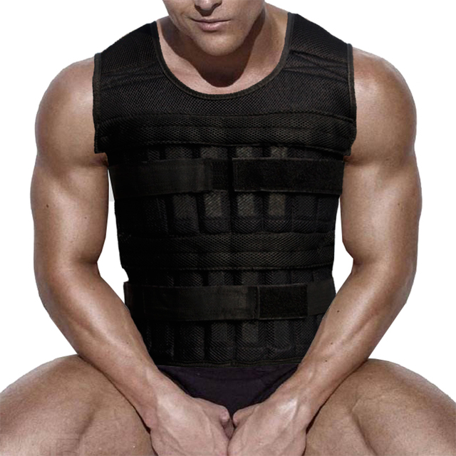 fitness equipment weighted vest gym accessories 0-35kg 0-15kg