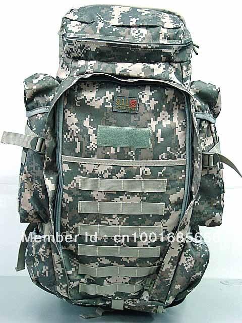 9.11 tactique complet fusil Combo sac à dos numérique ACU Camo MC OD CB BK