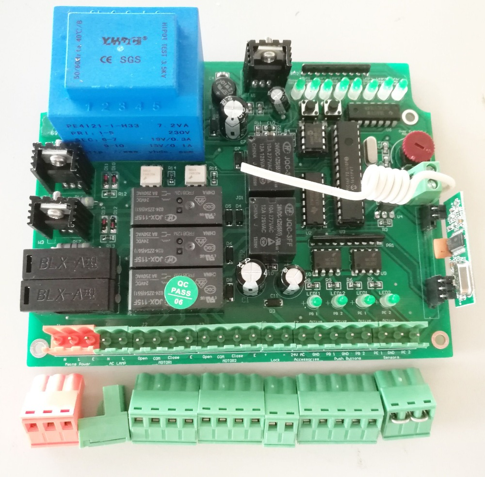 Electric Gates Swing Gate Motor /Electric AC220V 110V  Swing Gate Opener Control Board