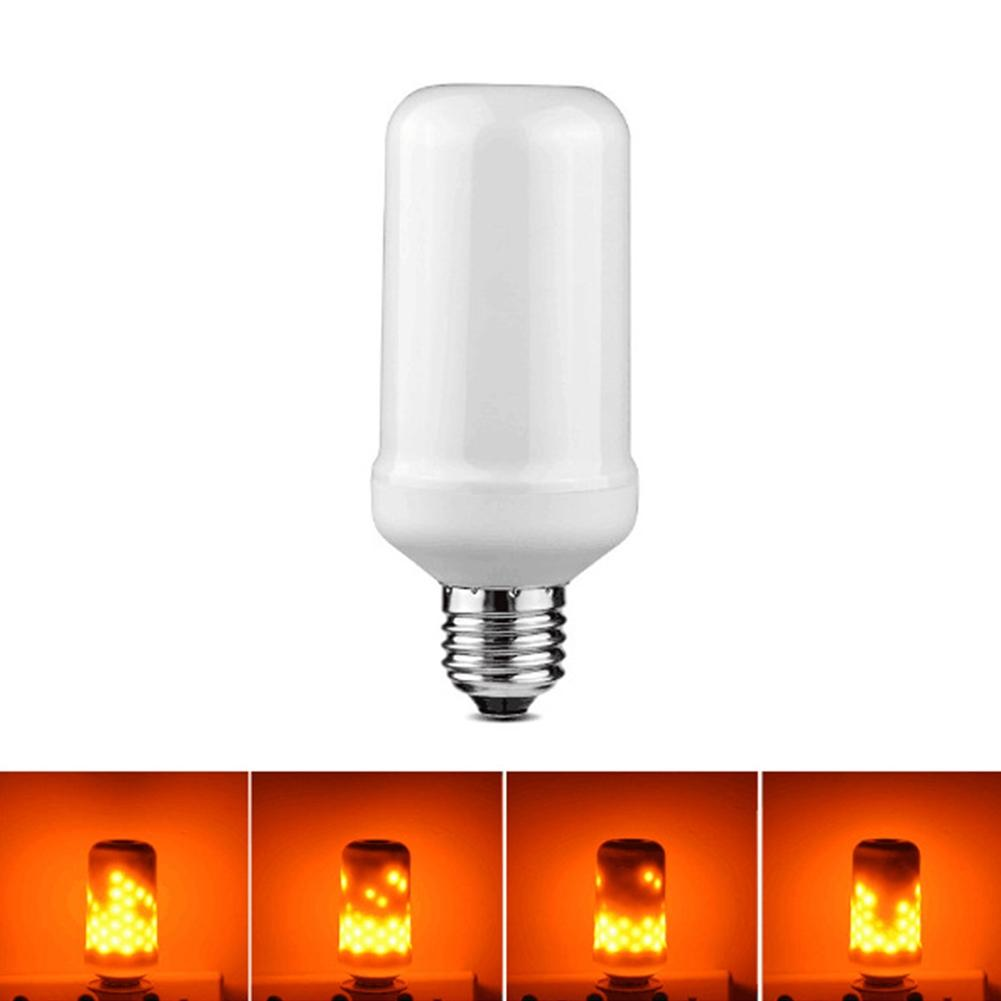 LumiParty Creative Simulate Christmas LED Flame Bulb Touch Lamp Illumination Decoration Light for Halloween Party Festival plastic standing human skeleton life size for horror hunted house halloween decoration