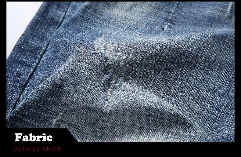 KSTUN 2020 New Arrivals Jeans Shorts for Men Regular Fit Stretch Blue Casual Pants Famous Brand Men's Clothes Male Cowboys Shorts 18