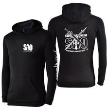 Sword Art Online Sweatshirt Hoodies – Black