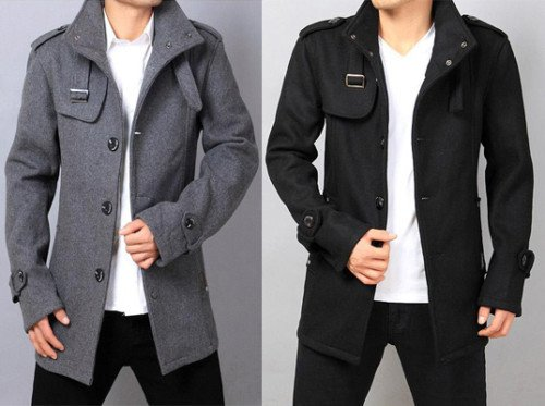 Hot Men s UK Style Men wool coat Korean style winter outerwear warm jacket  trench coat winter outdoor clothes 5f9cdcdfe